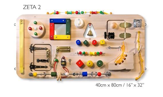 Beschäftigt Board Activity Board Sensor-Brett Montessori