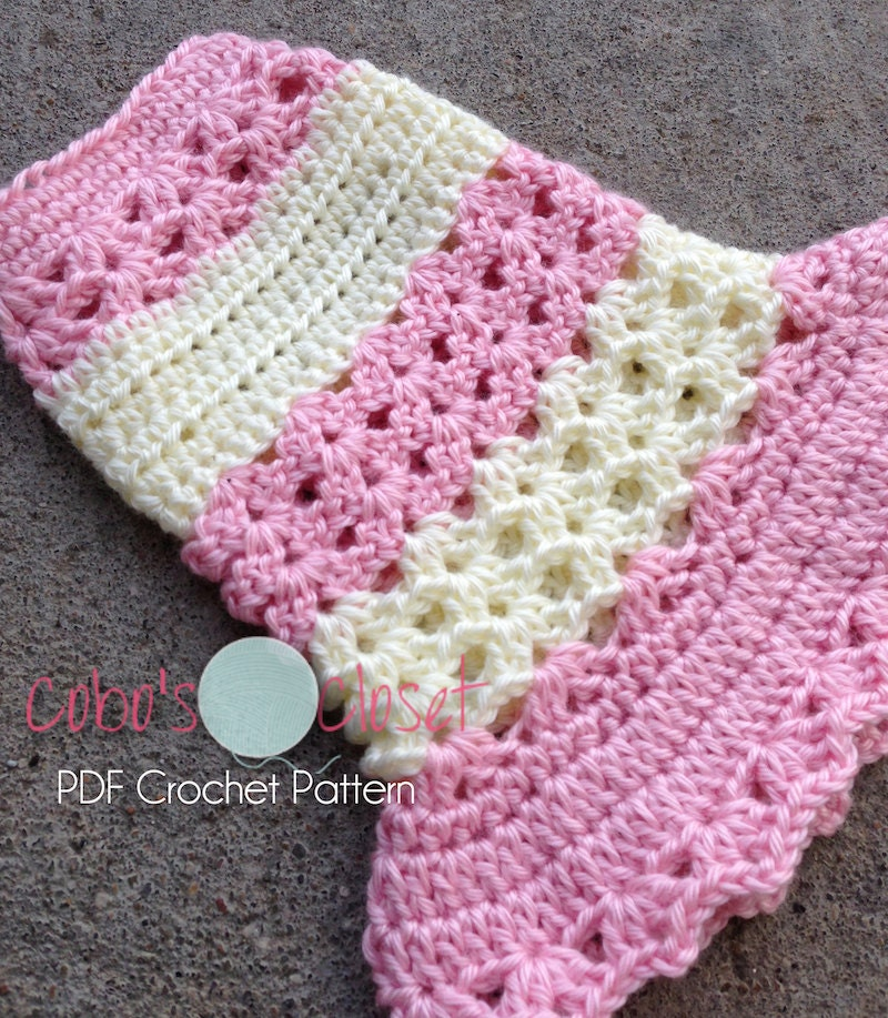 Pdf Crochet Pattern Littlest Bo Peep Dog Dress Instant Download