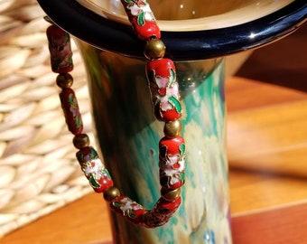 Asian Inspired Colorful Bracelet
