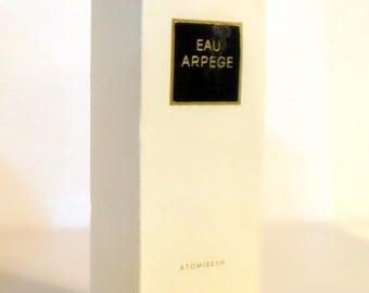 Vintage Perfume 1980s Eau Arpege by Lanvin 1 oz  Eau de Toilette Spray Empty Box No Bottle