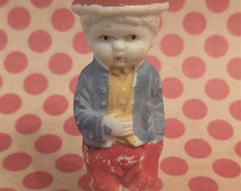 vtg Miniature bisque baby doll OLD