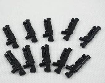Building toy mini-figure star wars first Order Death trooper Rifle 10 pieces.