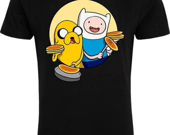 Jake the Dog Adventure Time 'Makin' Bacon' - T-Shirt - Free UK Delivery