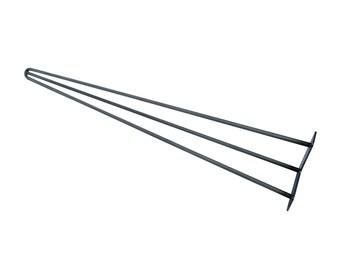 """Hairpin Legs 30"""" - 34"""", Hairpin Table Leg, Mid Century Modern, Metal Legs, Hairpin Leg, Coffee Table Legs, Midcentury Modern Steel Table Leg"""