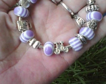 Mother Daughter, Euro style bracelet