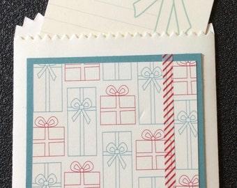 Gift Card Holder, Money Holder, Bag, Tag, Christmas, Friend, Family, Handmade, stampin up