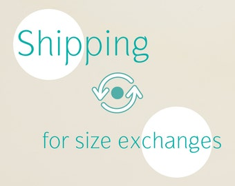 Shipping for Size Exchanges