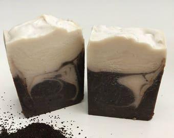 Mocha Latte Handcrafted Soap