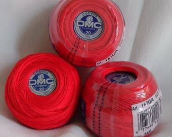 DMC Cebelia Cotton thread, Bright Red, no.666