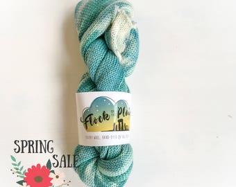 25 silk/ 75superwash merino Sock Blank - Marylin