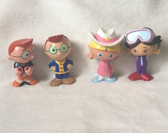 Little Einsteins Figurines Cake Toppers Lot of 4