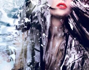 FREE UK Art PHOTOGRAPHY Portrait  Woman Photography Print , Fine Art, Wall Art, Home Decor, Wall Decor, Art Decorative