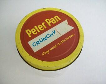 Peter Pan Crunchy Peanut Butter Jar-1 Cup Size