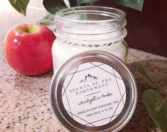 Handmade candles - candles handmade - handmade candles for wedding - candles - mason jar candles - twilight - bath and body works - forks