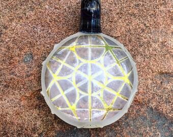 Optic sacred geometry pendant