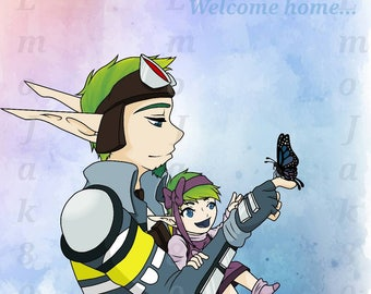 """8X10 Print of """"Welcome Home..."""""""