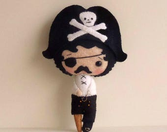 Pirate pdf Pattern - Instant Download