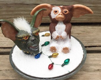 Ooak Gremlins gizmo and spike sculpture