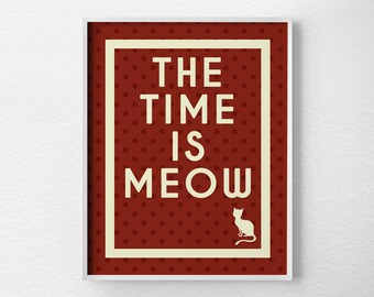 Motivational Quote, Motivational Poster, Quote Art, Inspirational Print, Funny Print, Typography Poster, Cat Art Prints, Cat Art, 0231