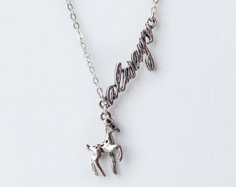 Always Necklace - Severus Snape Harry Potter Inspired Deer Patronus