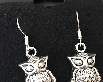 Owl earrings Jewelry, costume jewelry, ships Quick