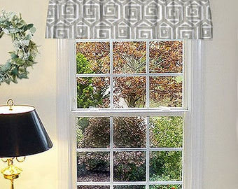 Valance Curtain Panels, Rustic Window Curtains, Rustic Valance, Country Curtain Panels, Made to Order Window Valance, Kitchen Farmhouse