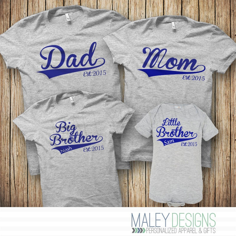 Family Baseball Shirts Matching Family Shirts Set of 4