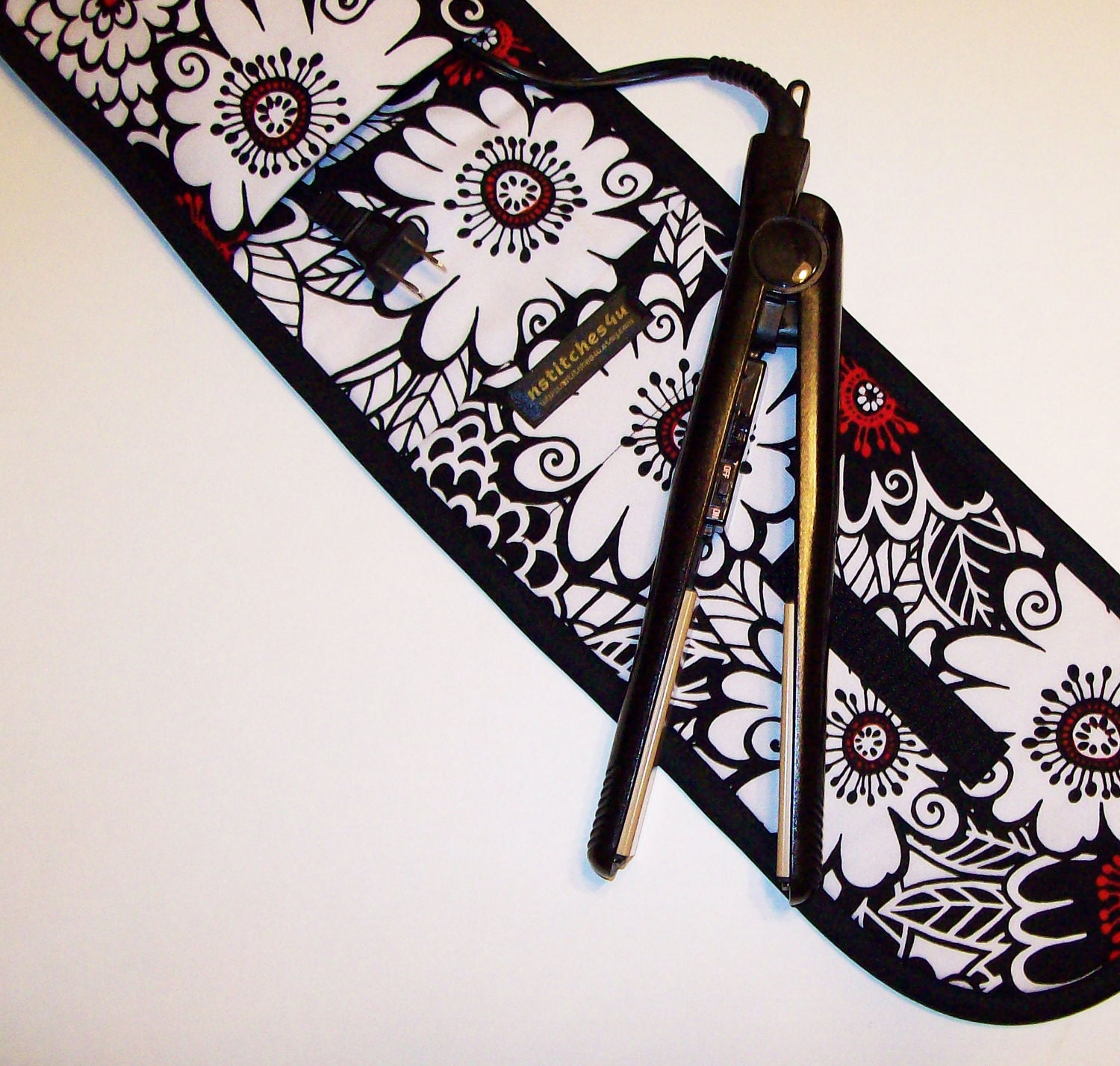 Curling Iron Case Flat Iron Cover Insulated For Travel