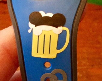 Mickey or Minnie Beer and Pretzel Magic Band Decals!