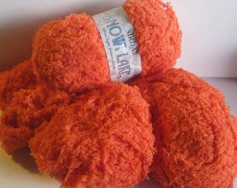 3 skeins of Sirdar Snowflake yarn destash over 5 ounces