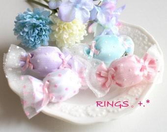 Fairy kei Kawaii Girly Harajyuku Pastel Candy Accessory Ring