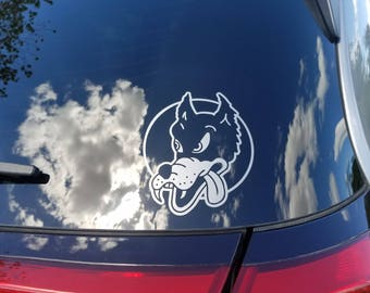 Dire Wolf - Grateful Dead - Vinyl Decal