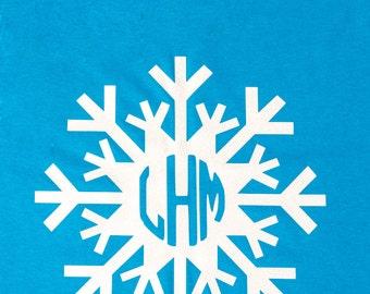 Monogram Snowflake Shirt