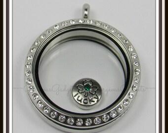 Lucky Charm Floating Charm for Glass locket / Floating Locket / Memory Locket