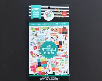 The Happy Planner MINI Value Sticker Pack - Seasonal