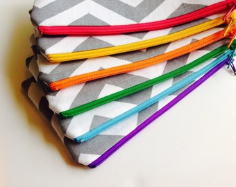 Design Your Own Chevron Clutch Bag Pouch