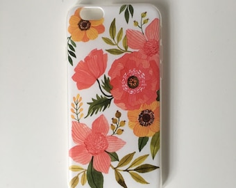 Bold Flowers iPhone 6s Case