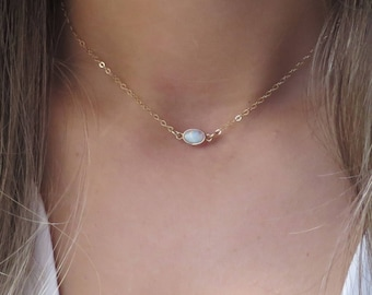 etsy choker diamond market layered necklace dainty thin qapj ca minimal gold il