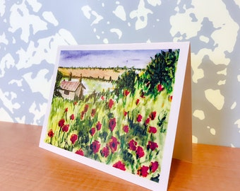 Tuscany (5 1/2 X 4 Staionary Cards)
