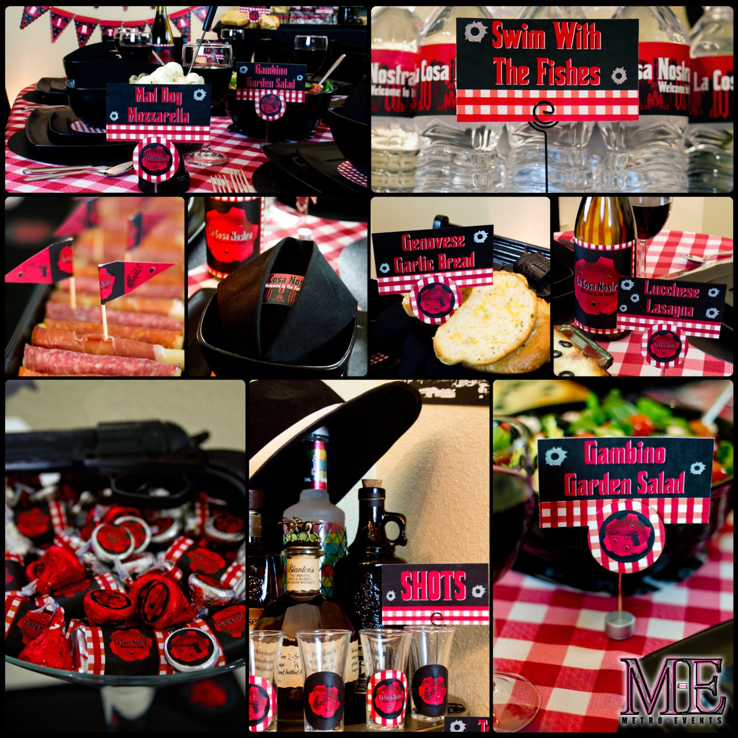 Mobster Party Decorations Gangster Party Mafia Birthday