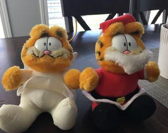Garfield Plush Christmas Set