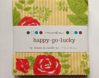 Happy go lucky Charm Pack by Bonnie and Camille for Moda