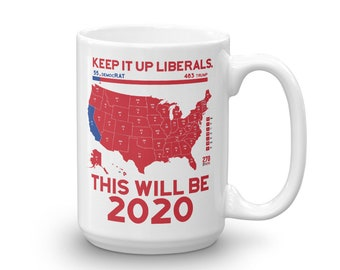 Political Gifts, Conservative gifts, Political Mug, Political Coffee Mug, Republican Coffee Mug, Conservative Mug, Political Humor, Politics