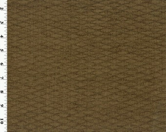 Brown Umber Marina Chenille Home Decorating Fabric, Fabric By The Yard