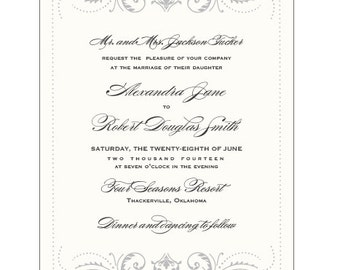 FLOURISH- Ready to Order Invitation Collection