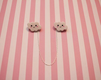 Cloud Collar Pins