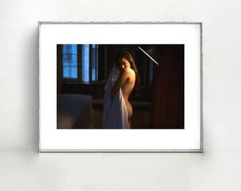 Dalla. 11x14 Fine Art Print - Color Photography - Woman Portrait