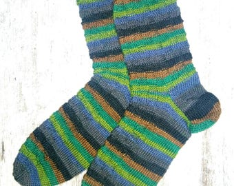 Socks Hand Knitted size 41/42