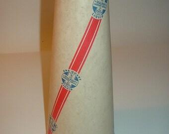 Vintage Sealright Cone Shaped Milk Carton