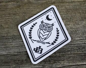 2 Sticker Pack - Night Owl
